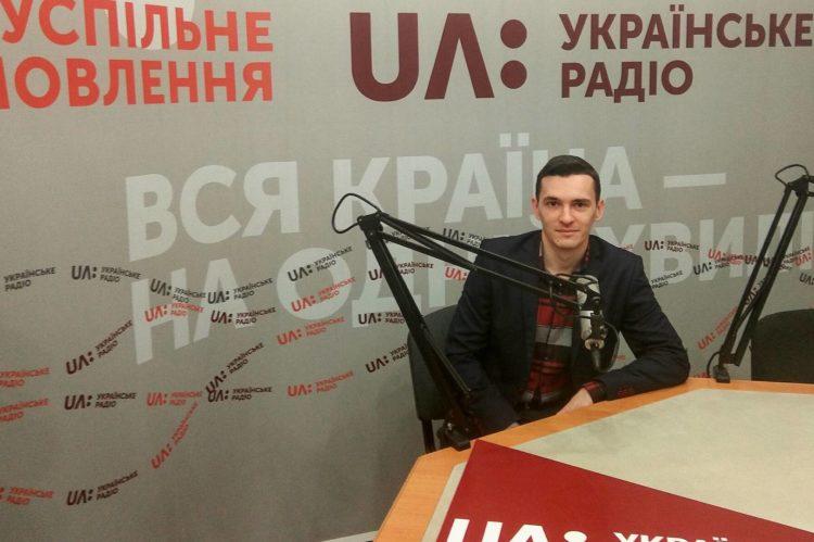 Володимир Боєру в ефірі Українського радіо